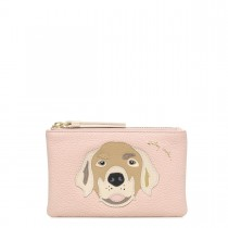 Radley, Radley & Friends Retreiver, Small Coin Purse, Blush