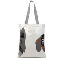 Radley, Radley & Friends Daschund Medium Tote, Natural