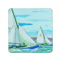 Denby Sailing Coasters, Blue