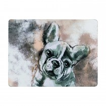 Denby French Bulldog Placemats, Cream