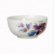 Casa Lily Cereal Bowl, White