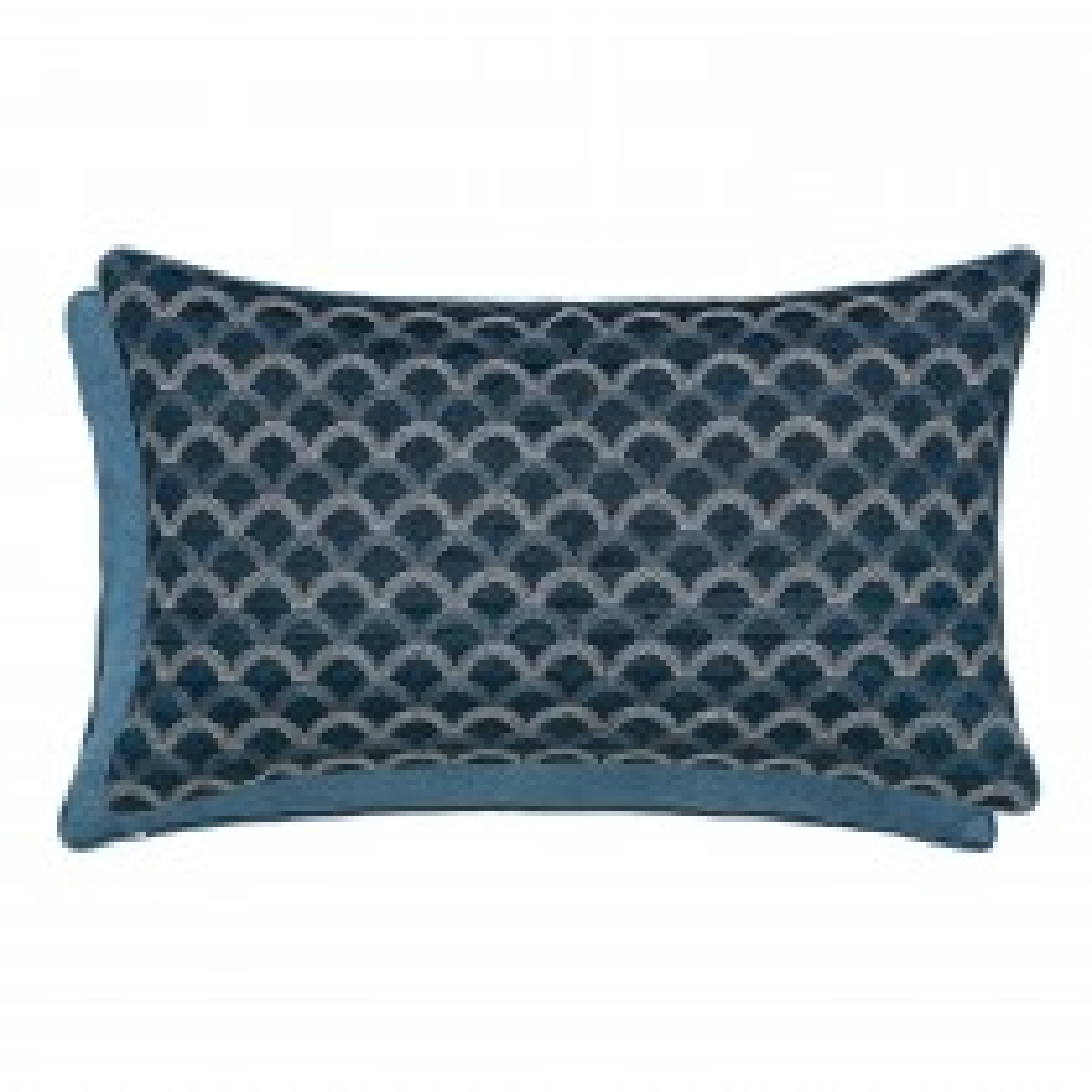 Bedeck Soller Cushion, 30x50cm, Blue