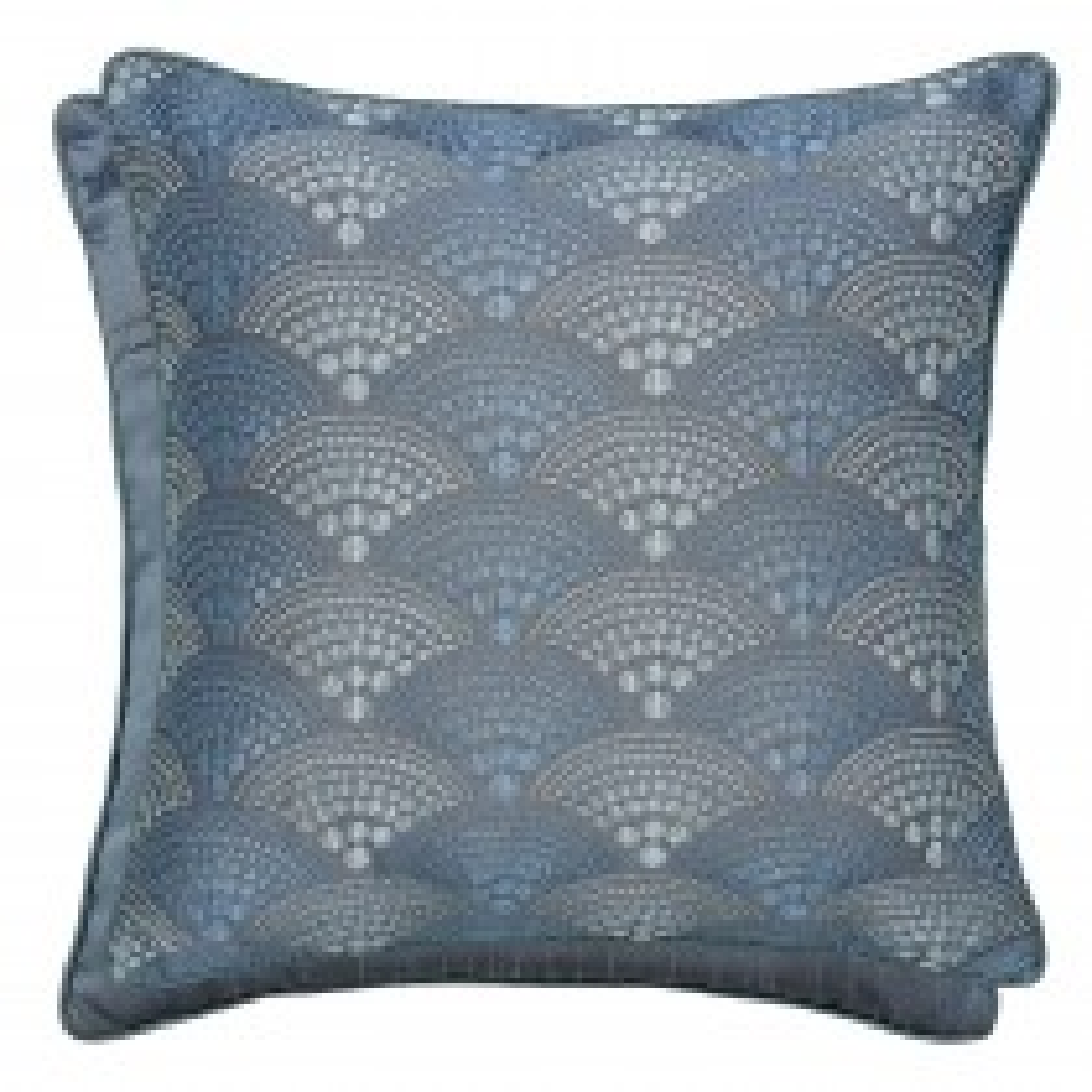 Bedeck Sanremo Cushion, 40x40cm, Blue