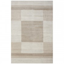 Frith Rugs Indian Gabbeh Range, 1.22m x 0.61m, Beige
