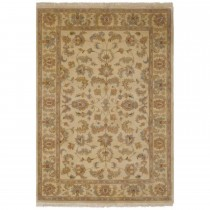 "Frith Knotted Indo-persian Shervan Rug 4'0"" x 2'0"""