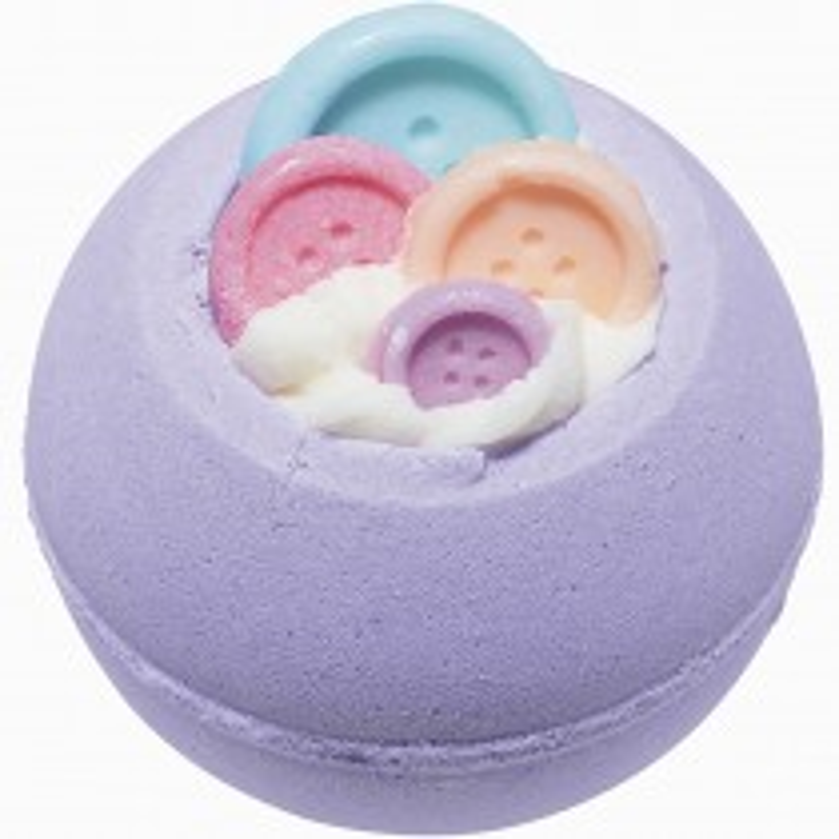 Bomb Cosmetics Bomb Jamin Button Bath Blaster, Purple