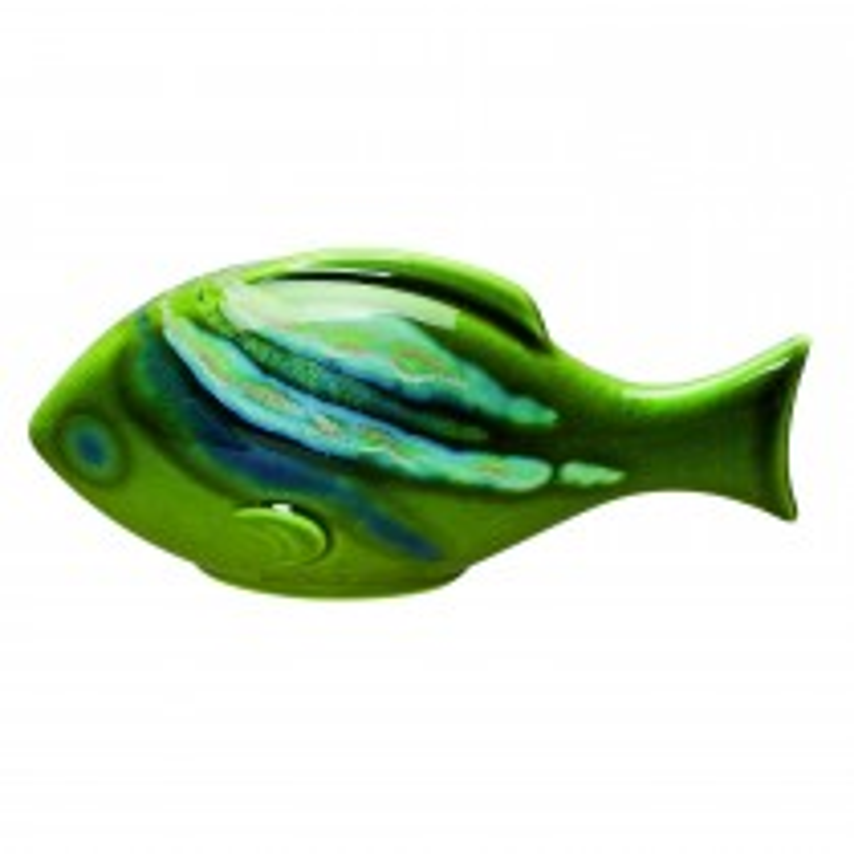 Poole Pottery Maya Fish Large, Green