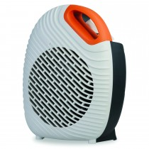 Kingavon, 2kw Two Tone Hot and Cool Heater, White and Orange