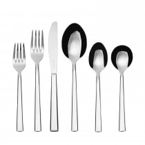 Rayware Viners Mercury 30 Piece Cutlery Set, Silver