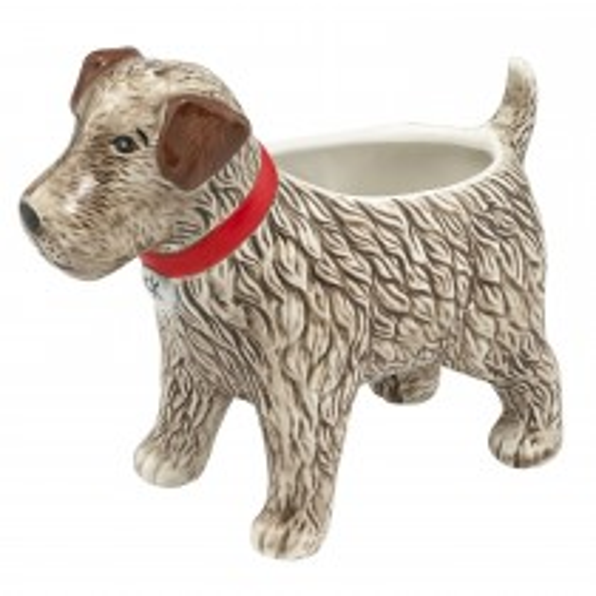 Cath Kidston Dog Planter Vase, Multi