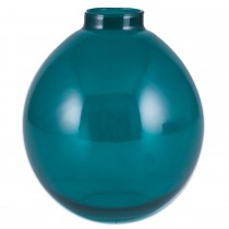 Pacific Lifestyle  Recycled Glass Tokyo Small Bottle, Jade