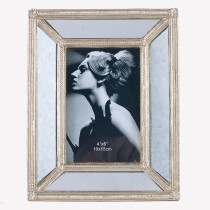 Pacific Lifestyle Gold Poly Resin & Glass Photo Frame Small, Gold
