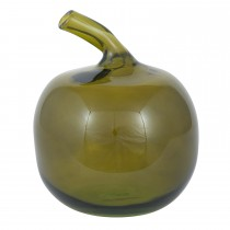 Pacific Lifestyle Recycled Glass Apple, Green