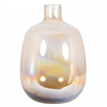 Pacific Lifestyle Lustre Recycled Glass Osaka Bottle, Natural