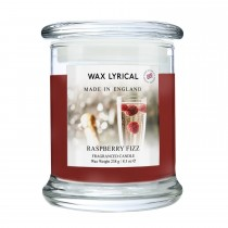 Made In England Wax Fill Jar Candle, Raspberry Fizz