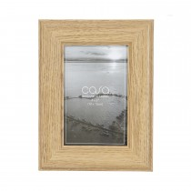 "Casa Wood Look Photo Frame, Grey, 4"" x 6"""