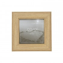 "Casa Wood Look Photo Frame, Grey, 5"" x 5"""