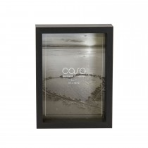 "Casa Deep Photo Frame, Black, 5"" x 7"""