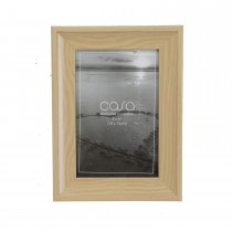 "Casa Thick Rimmed Photo Frame, Natural, 4"" x 6"""