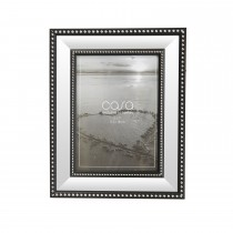 "Casa Mirrored Photo Frame, Glass, 5"" x 7"""