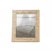 "Casa Embossed Photo Frame, Gold, 8"" x 10"""