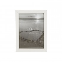 "Casa Shallow Photo Frame , White, 5"" x 7"""