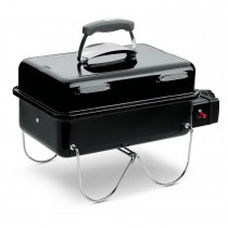 Weber Go Anywhere Gas Grill Barbecue, Black