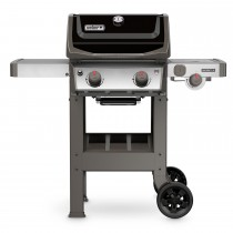 Weber E-220 Spirit II Gas Barbecue, Black