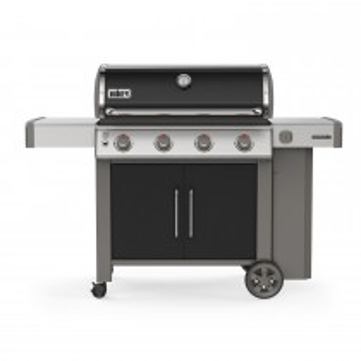 Weber E-415 Genesis II Gas Barbecue, Black