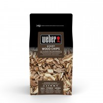 Weber Hickory Barbecue Wood Chips 0.7kg, Brown