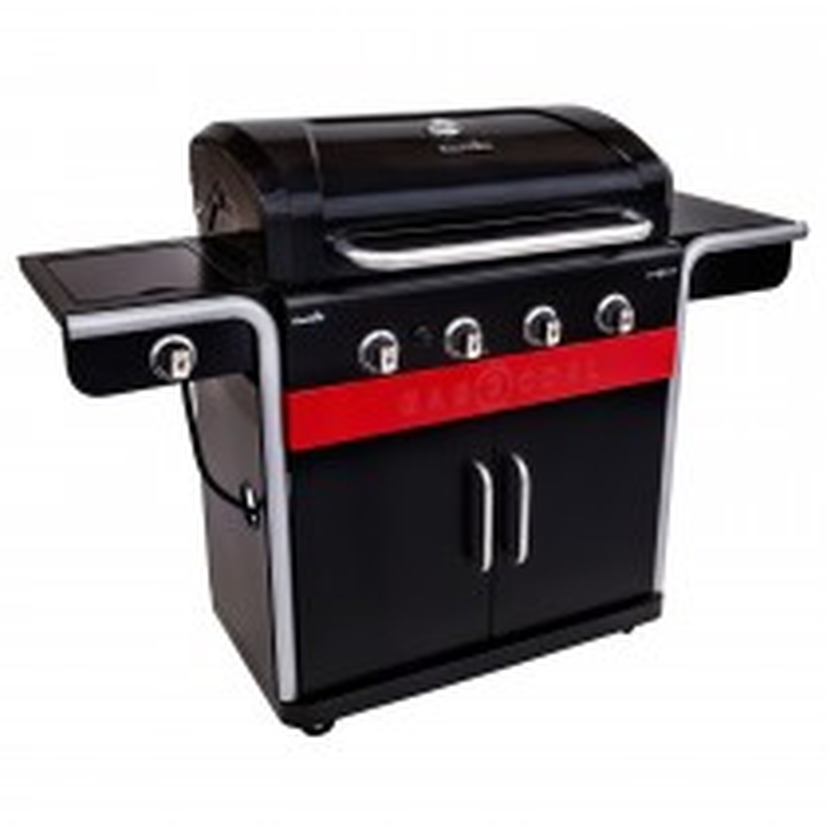 Char-Broil Gas 2 Coal 440 Barbecue, Black