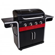 Char-Broil Gas 2 Coal 440 Barbecue, Black