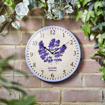 Smart Garden Lavender Wall Clock