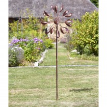 Smart Garden Virgo Wind Spinner, Bronze