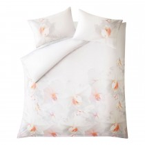 Ted Baker Cotton Candy Duvet Cover, King, Pink