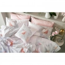 Ted Baker Cotton Candy Feather Filled Cushion, 45x45cm, Pink