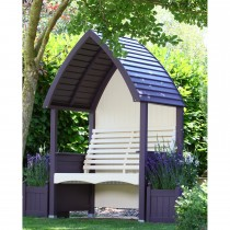 AFK Cottage Arbour, Lavender/Cream
