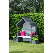 AFK Orchard Arbour, Charcoal/Stone