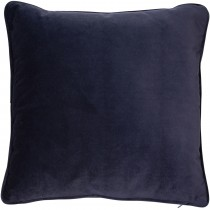 Malini Velvet Piped 43 X 43cm, Navy