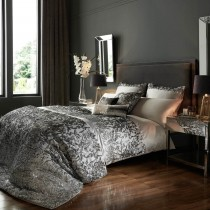 Kylie Minogue Angelina Duvet Cover, King, Grey