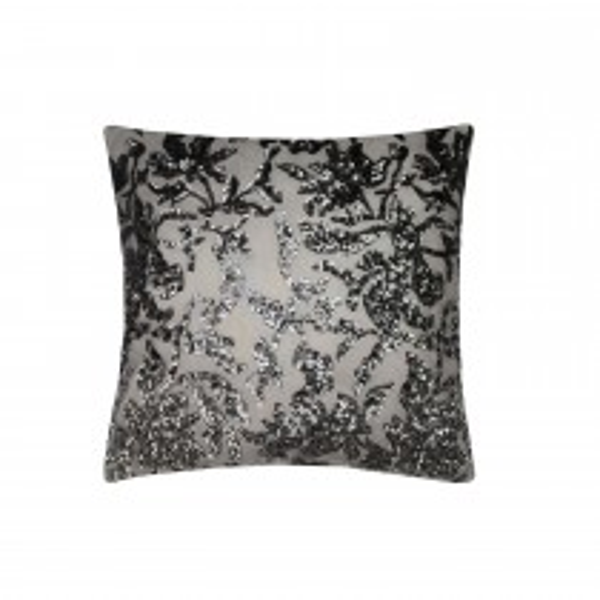 Kyeli Minogue Angelina Polyester Filled Cushion, 45cmx45cm, Grey