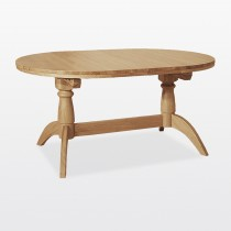 Casa Windsor Oval Double Extending Table