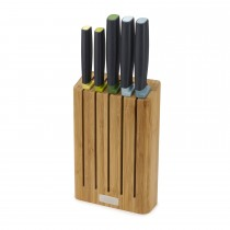 Elevate Knives Bamboo 5pc Set, Bamboo