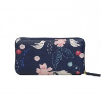 Radley Handbags Painterly Floral Zip Matinee Large, Ink