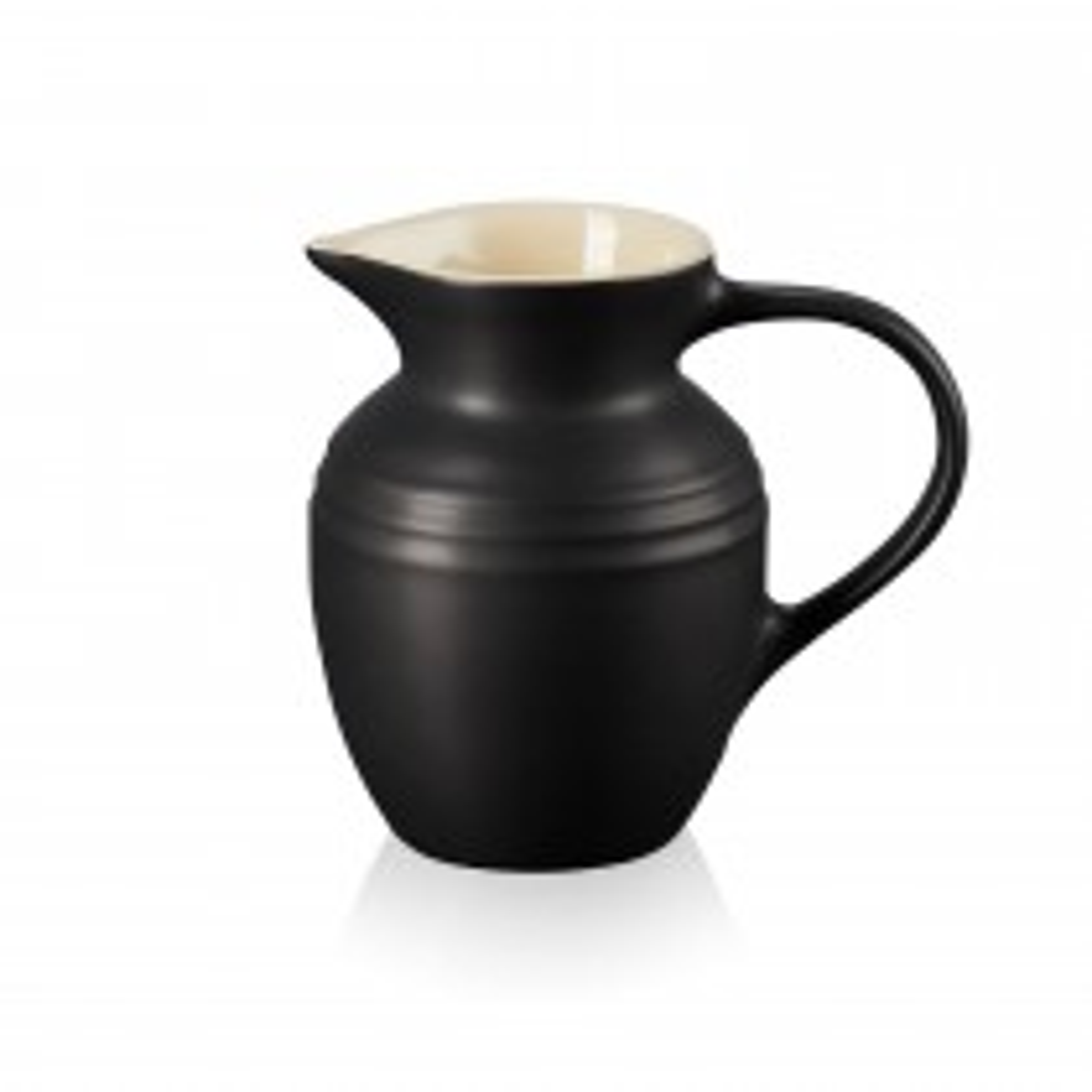 Le Creuset Stoneware Breakfast Jug, Satin Black