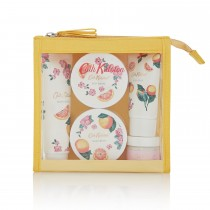 Cath Kidston Grapefruit & Ginger Travel Toiletries Set