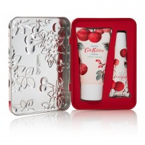 Cath Kidston Mini Cherry Hand & Lip Tin