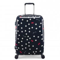 Radley Vintage Dog Dot, 4 Wheel Suitcase, Medium