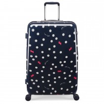Radley Vintage Dog Dot, 4 Wheel Suitcase, Large