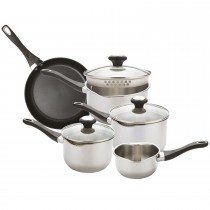 Prestige Strain Away 5 Piece Saucepan Set
